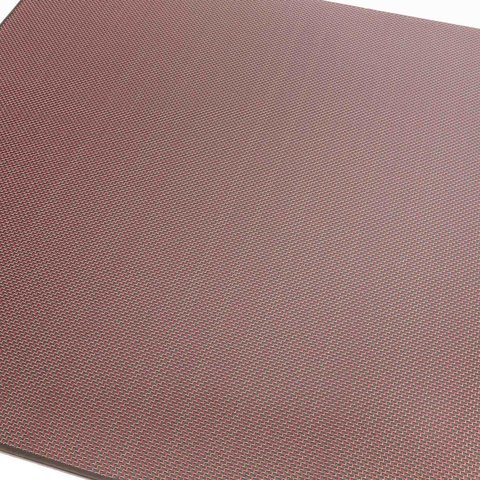 Carbon Sheet/Plate Plain red