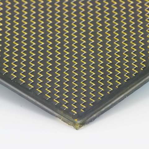 Carbon Sheet/Plate Plain gold