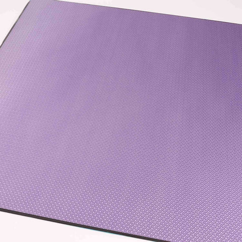 Carbon CFK Platte 3D purple
