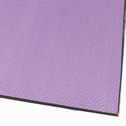 Carbon Sheet/Plate 3D purple