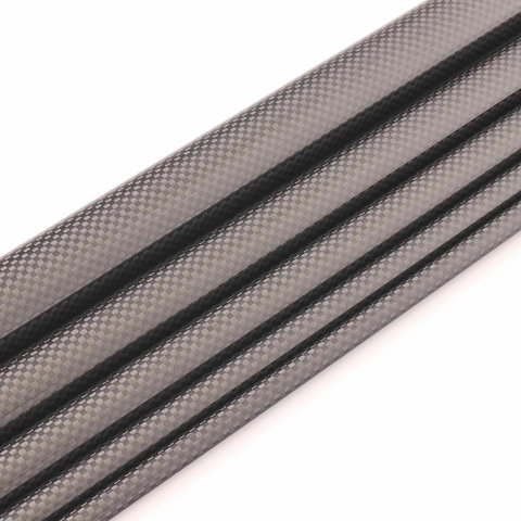 Carbon Tube Plain glossy