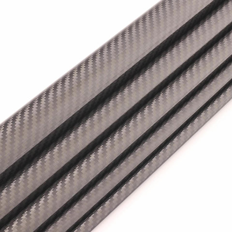 Carbon Tube Twill glossy - 7/9mm - 1m